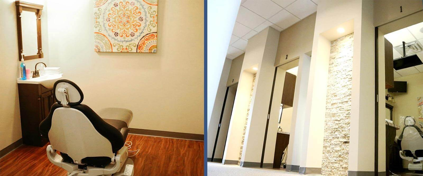 Hallway/Operatory Room - Overland Park Family Dental